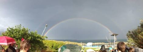 Primavera 2014 double rainbow